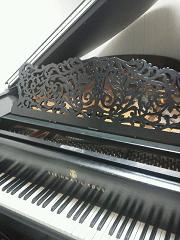 スタインウェイのピアノ