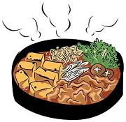 スキヤキ 熱い食物のイメージ