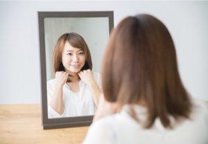 鏡に映る自分には・・・